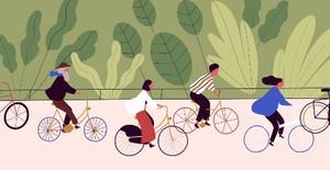 Le vélo, un mode de déplacement résilient, un article de Frédéric Héran à découvrir ...