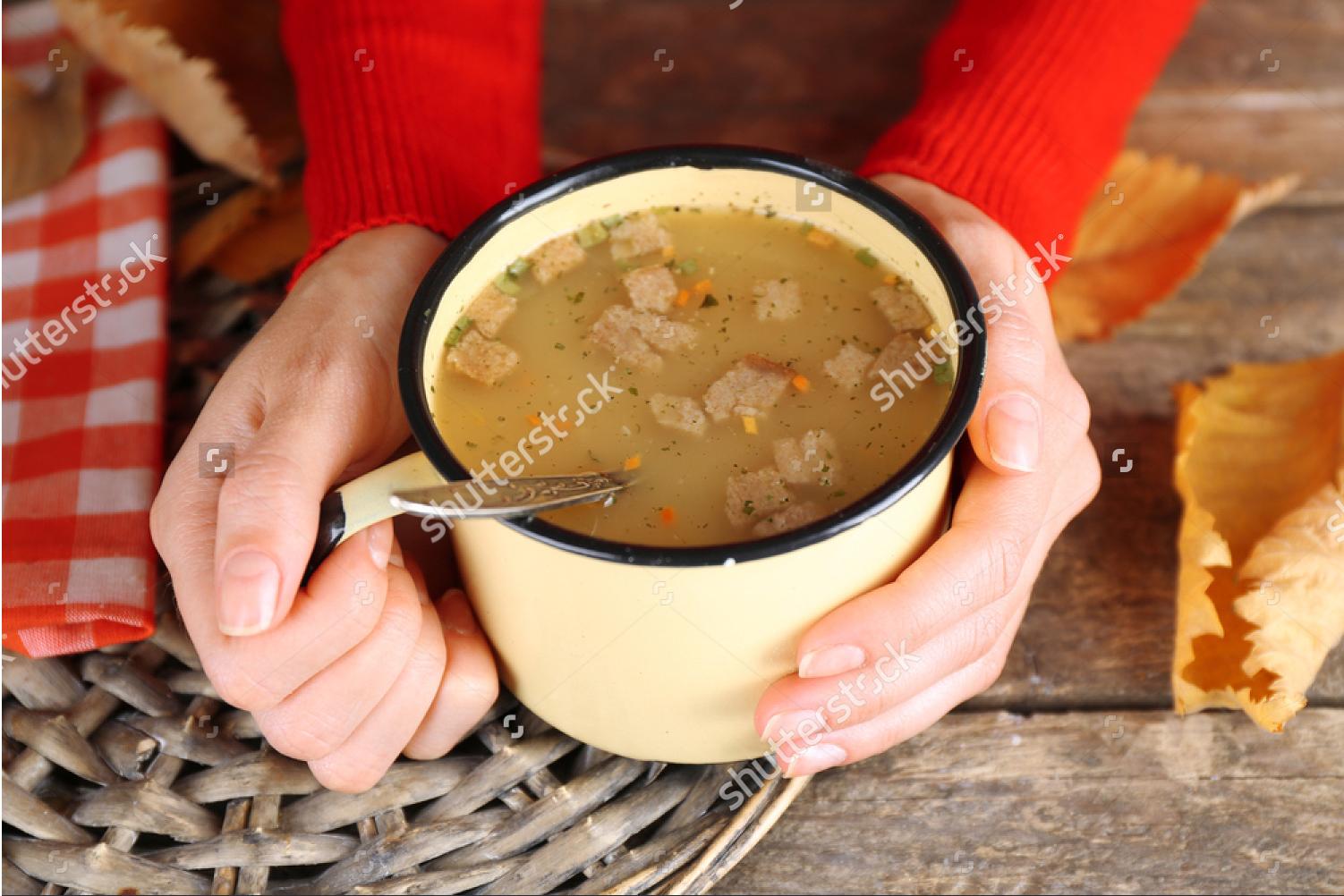 手持ちスープ