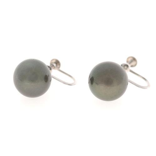 タヒチ黒真珠イヤリング