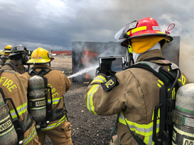 Real live firefighting