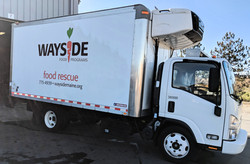 Box truck lettering for delivery business