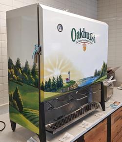 Cooler wrap for Oakhurst Dairy