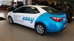 Car wrap for Berlin City Auto Group