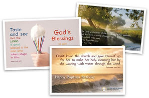 Collage Image of Sample Cards