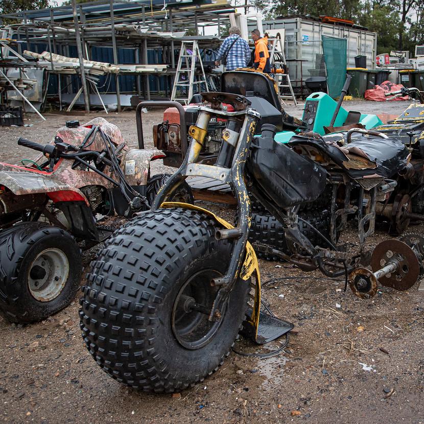 Warren Thomson-Junk Yard Quaddy MERIT
