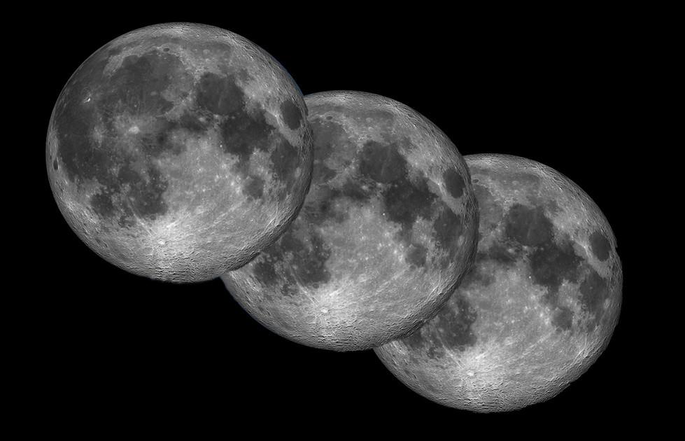 Margaret Kossowski - Three moons - MERIT