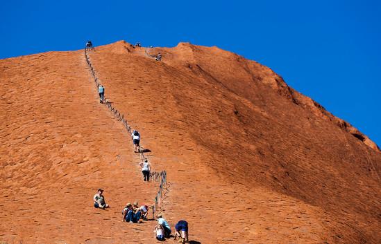 Margaret Kossowski- Ulhuru Climbing MERIT