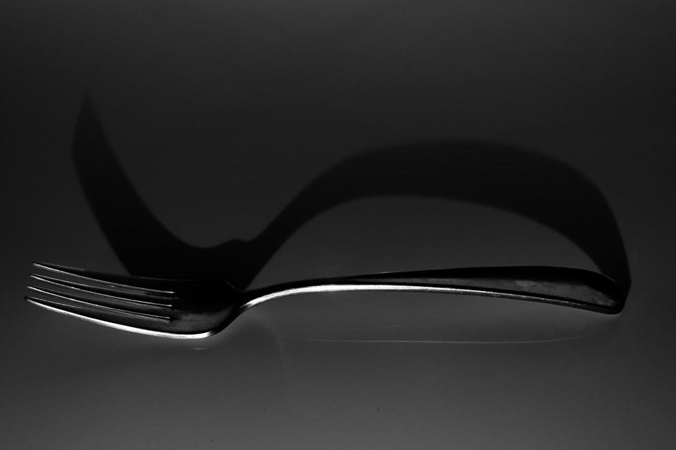 Judy Keegan - fork shadow