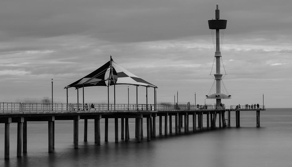 Margaret Kossowski - People on the jetty - MERIT