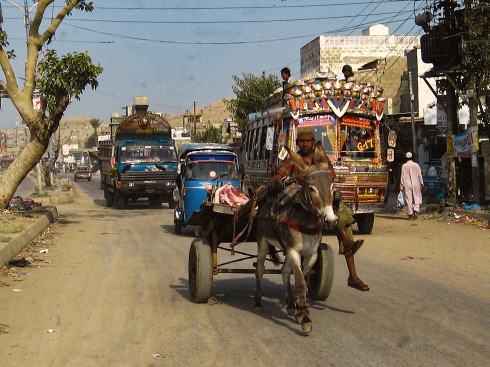 Judy Keegan - Pakistan transport MERIT