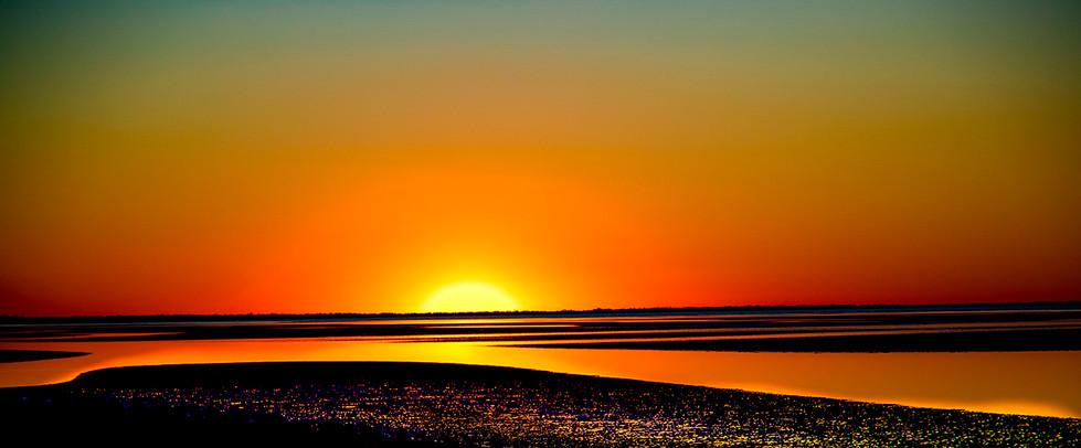 Warren Thomson - Absract Sunset - HONOUR
