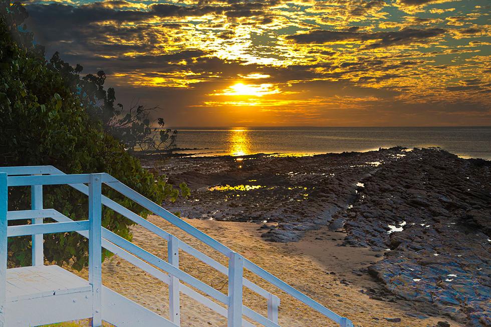 Warren Thomson - Stairs to Sunset