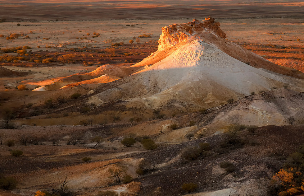Margaret Kossowski - Landscape at sunset MERIT