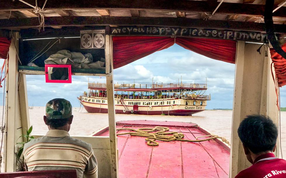 Rosemarie Edwards - Sailing to the Queen Tara MERIT