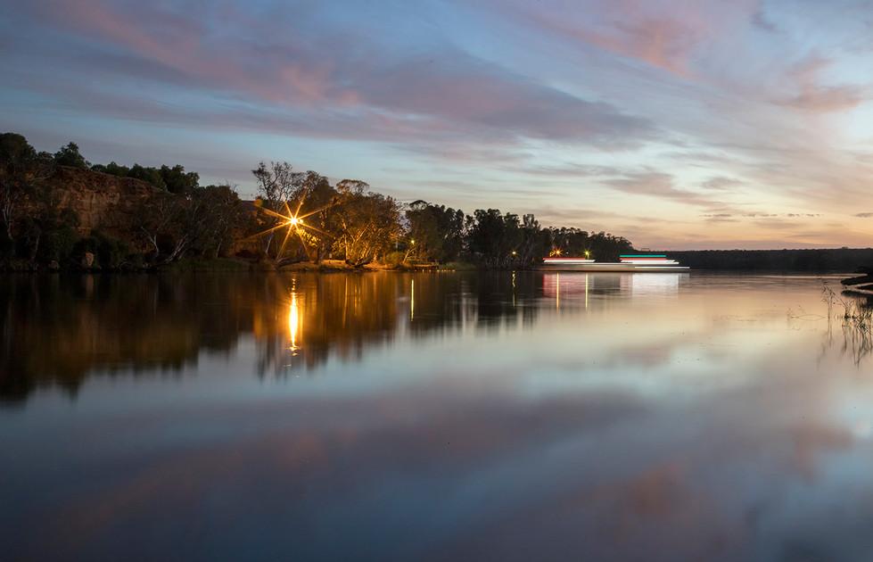 Margaret Kossowski - Ferry on the river  - MERIT