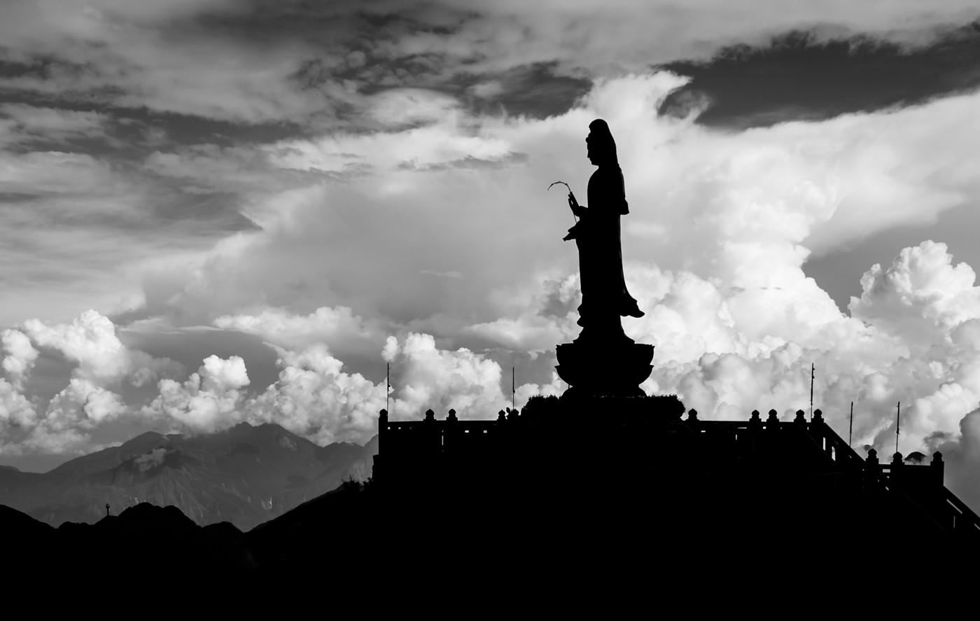 Rosemarie Edwards - Bodhisattva on Mt Fansipan (MERIT)