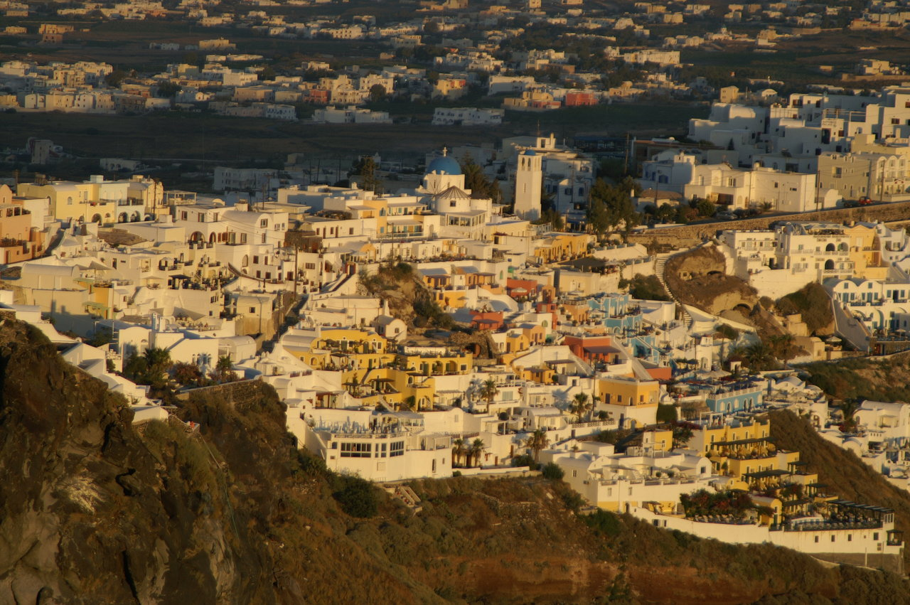 Fira town, Santorini