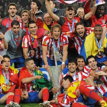 El Atlético es el Rey de Europa