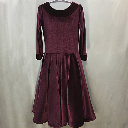 Платье рейтинговое АК-бархат