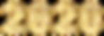 2020_Golden_Transparent_Clip_Art_Image.p