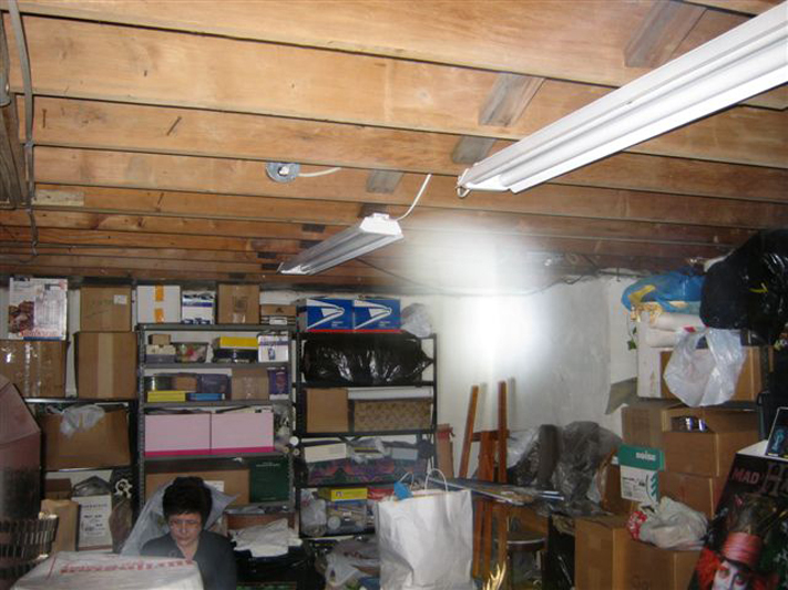 Energy portal in basement 2010