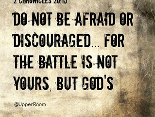 We Never Face Our Battles Alone: A Reminder that God is with Us by Debbie McDaniel