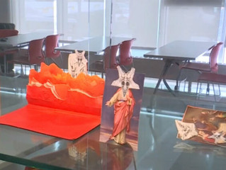 University of Southern Maine Promotes 'The Unholy Bible' Art Project