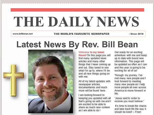News Paper with Bill Bean