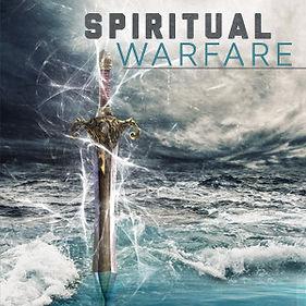 Spiritual Warfare Sword on water