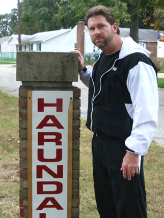 Bill Bean at the Harundale Sign.png