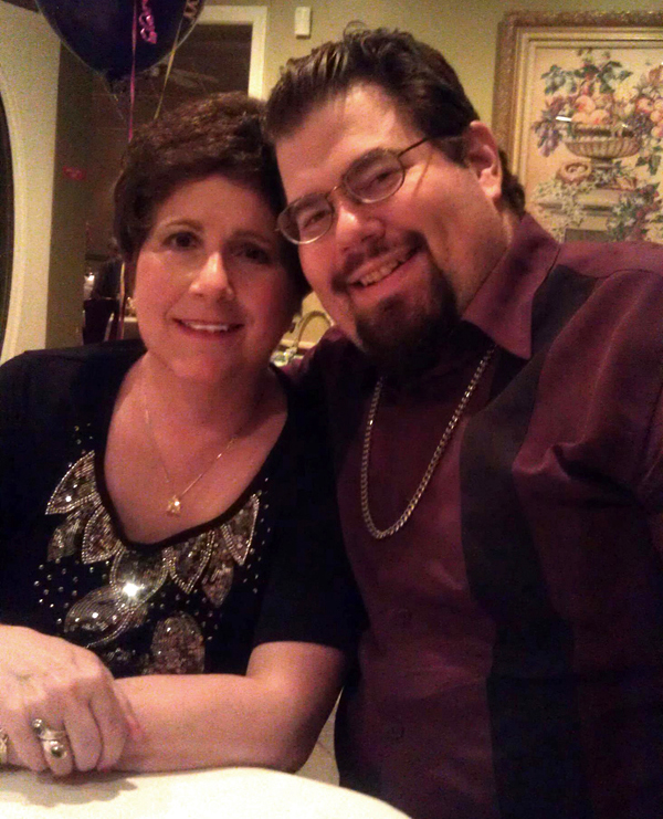 Anita and Chris March 2019