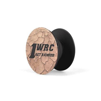 1WRC Clay Logo #3 Pop Stand