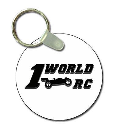 1WRC Logo #1 Keytag