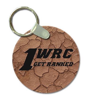 1WRC Clay Logo #2 Keytag