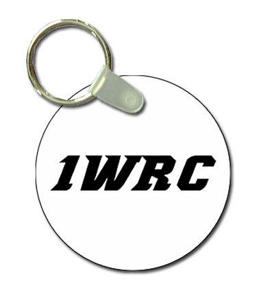 1WRC Logo #2 Keytag
