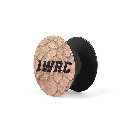 1WRC Clay Logo #2 Pop Stand