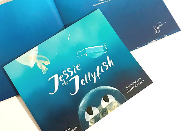 JESSIE THE JELLYFISH BY LAURIE NEWMAN. Book. Fillthemup