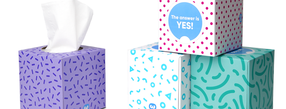 Forest Friendly Tissues - Single Box