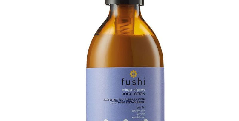 Fushi Bringer of Peace body lotion. Fill them up