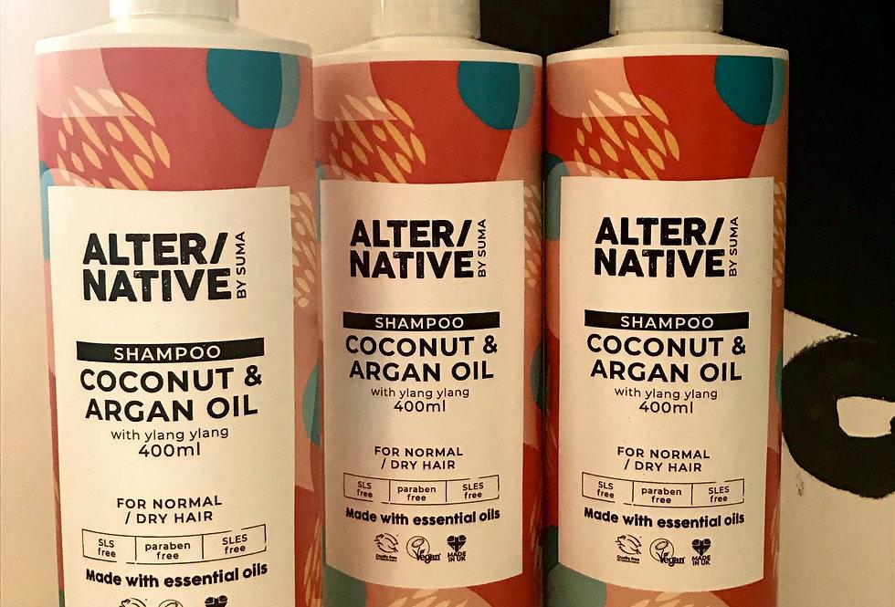 Alter/native by Suma Coconut & Argan Oil Shampoo. Fill Them Up