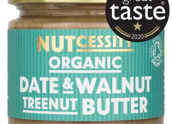 Nutcessity Organic Date & Walnut Treenut Butter at FillThemUp