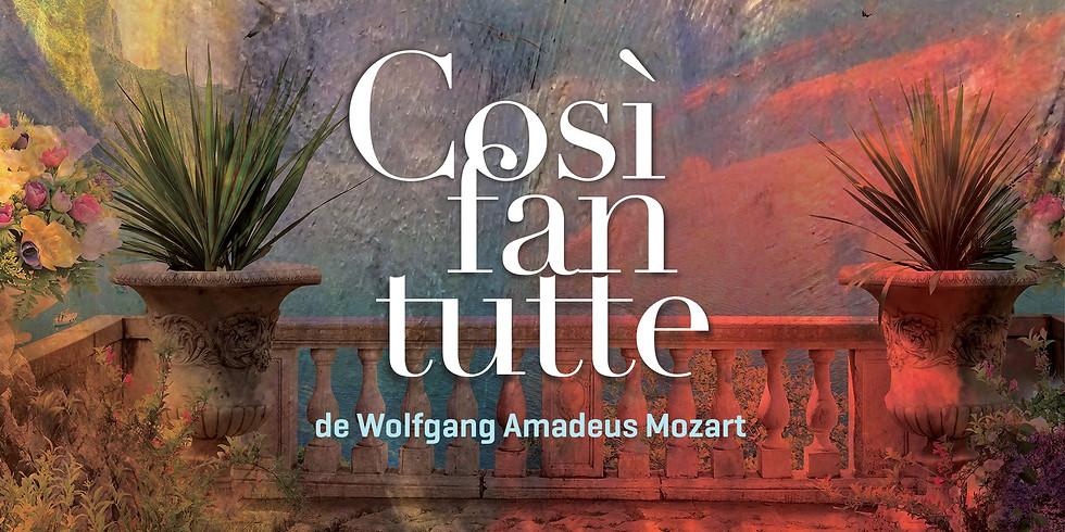 Opéra «Cosi fan tutte» de Mozart à l'UdeM