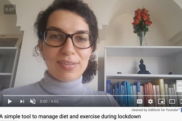 Caged with calories to burn and nowhere to exercise: managing diet and exercise in lockdown.  [Wise