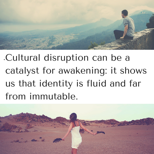 Are you culturally disrupted?