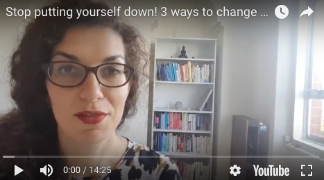 Stop putting yourself down now. 3 principles from learning science.