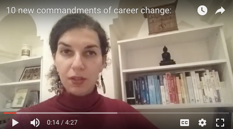 The 10 New Commandments of Career Change: Interview yourself, then...
