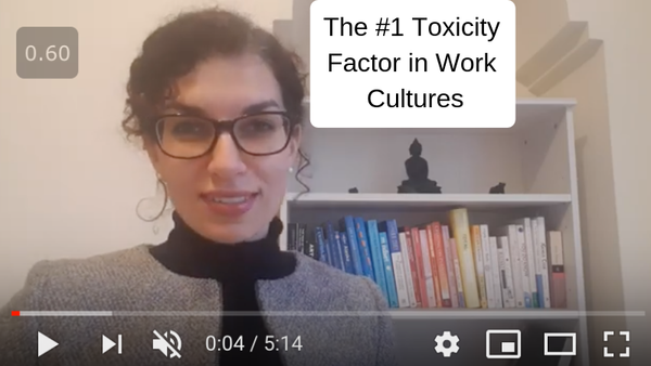 The #1 toxicity factor at work