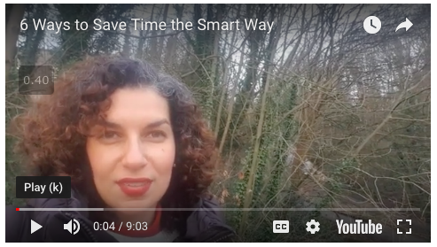 6 Ways to Save Time the Smart Way.
