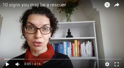 Are you a rescuer? (careers and power series)