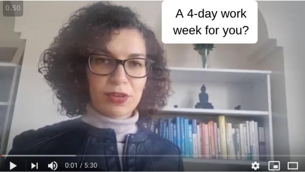 A 4 day work week?